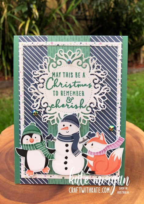 Penguin Playmates Saleabration 2021 by Kate Morgan, Stampin Up Australia Heart of Christmas 9